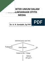 Dr. Ari Sondakh - Peran Dokter Umum
