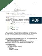 PythonTutorial Notes Ch4