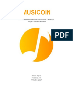 Musicoin White Paper 2.0.0 - Português