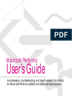 Apple Macintosh Perform a 6300 User Guide