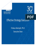 Knowledge Sharing Effective Strategy Execution