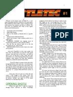 BattleTech - Magazine - Battle-Tec - Issue #1.doc