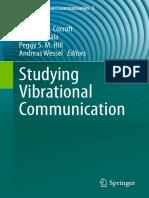 (Animal Signals and Communication 3) Reginald B. Cocroft, Matija Gogala, Peggy S.M. Hill, Andreas Wessel (Eds.)-Studying Vibrational Communication-Springer-Verlag Berlin Heidelberg (2014)