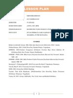 Job Sheet dan Lesson Plan Konseling Tanda Bahaya Trimester III pada Ibu Hamil