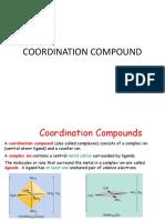 Coordination Compound