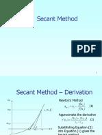 4 secant