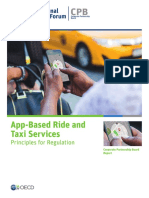 App Ride Taxi Regulation