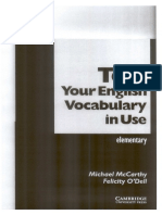McCarthy M., O'Dell F. - Test Your English Vocabulary in Use. Elementary - 2010.pdf