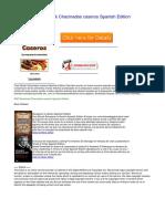 Chacinados Caseros Spanish Edition Duope54