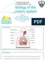 ZOO 401_General Animal Physiology_Respiratory System