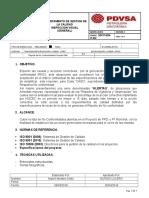 Reporte de No Conformidades DDP y FF Gerencia de Calidad