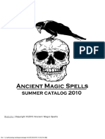 Ancient Magic Spells Catalog