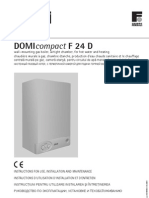 Centrala Termica Do Mi Compact f 24 d