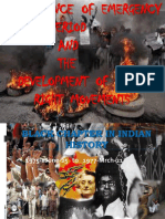 Experience_of_Emergency in India and the Development of Human Right Movements