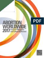 Abortion Worldwide 2017