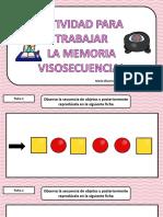 Actividad Memoria Visosecuencial