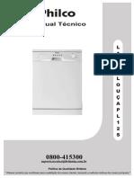 Manual técnico Lava Louças Philco PL21S