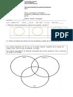Diagnóstico Artes Visuales Tercero Básico Finalizado