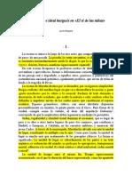 Iluminismo e Ideal Burgués en El Si de Las Niñas