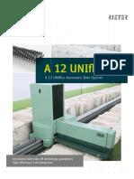 A 12 UNIfloc Leaflet 2936-V11 86370 Original English 86370