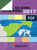 Kecamatan Luwuk Selatan Dalam Angka 2017