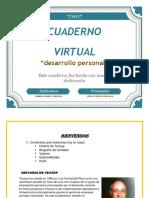 Cuaderno Virtual desarrollo personal primer semestre