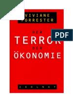 Viviane Forrester - Terror der Ökonomie
