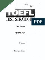 TOEFL Tes Strategies 3 Edition (Eli Hinkel, Ph .d.)