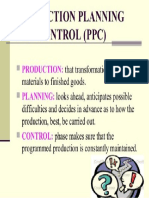 Production-planning & Control