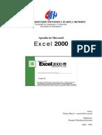 Apostila de Formulas Excel 2000