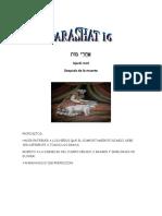 Parashat Ajarei Qadoshím # 29-30 Inf 6018
