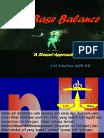 Acid Base Balance Stewart Approach