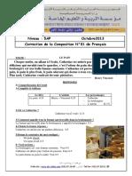 Correction Examen FrançAis 5AP