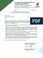 Pengumuman Seleksi Tahap 1 Nusantara Sehat Team Based Periode I Individu