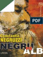 =Negruzzi Costache - Negru pe alb (Aprecieri)
