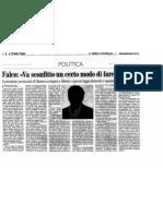Intervista ad Enzo Falco, Presidente Federazione SEL Caserta
