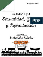 Bibliografia Sexualidad Up 3 y 4 2018