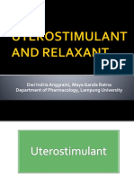 Uterostimulant and Relaxant 2