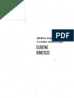 Eugene Ionesco - Escena Para Cuatro Personajes