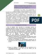 Plan de Comunicación Interna y Externa