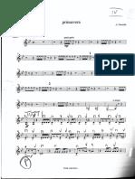 A. Piazzolla - Primavera (Violino II)