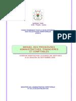 Manuel Proced Adm Fin Compta