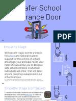 a safer school entrance