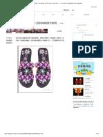 Zapatillas _ Sandalias de Línea de Nudo Chino --- Ocho Líneas Zapatillas Tutorial Gráfico