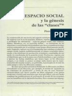 Espacio Social y Genesis