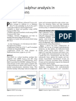 Advanced Sulphur Analysis in Hydrocarbons