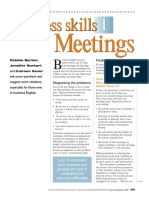 Barton D 2006 Business Skills 1 - Meetings