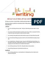 Khóa Học Writing Online