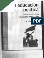 Isabelino Siede - La Educacion Politica (1)