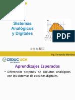 Conversión AD y DA - Tema I - Sistemas Analógicos y Digitales